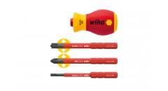 Набор stubby-рукоятка и биты SoftFinish® electric slimVario®